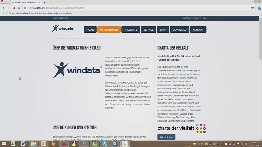 Installation Windata SOHO